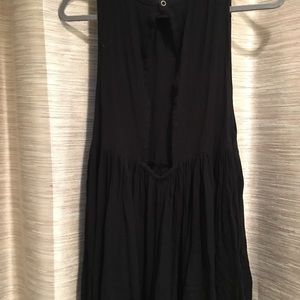 Urban Outfitters Dresses - Black Flowy Romper